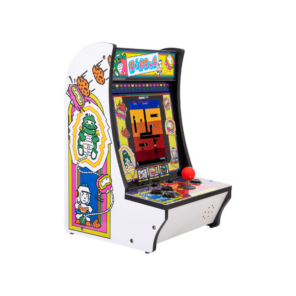 Arcade1UP Counter Arcade Machine: Space Invaders, Centipede or Dig Dug
