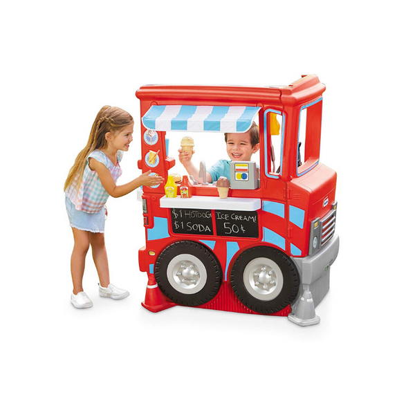 Little Tikes 2-in-1 Pretend Play Food Truck Kitchen