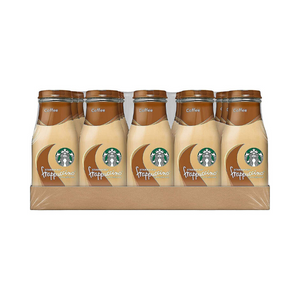 15 Glass Bottles Of Starbucks Frappuccino, Coffee