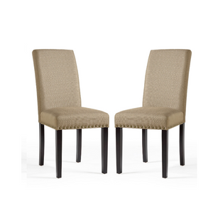 Set Of 2 Dining Room Chairs (4 Colors)