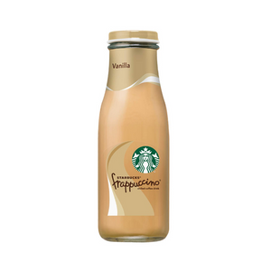 15 Glass Bottles Of Starbucks Frappuccino, Vanilla
