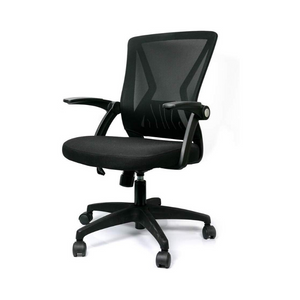 Mid Back Mesh Office Swivel Chair With Lumbar Support