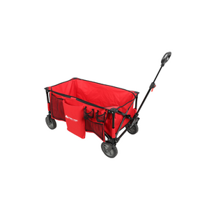 Ozark Trail Folding Wagon w/ Telescoping Handle (Red)