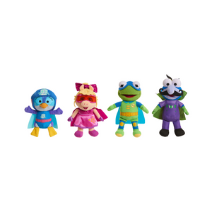 Muppet Babies Bean Plush 4-Pack