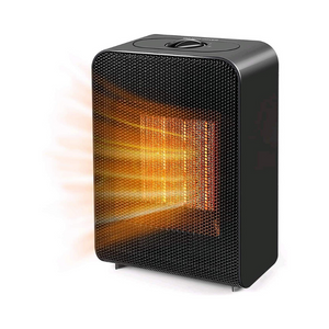 Portable Space Heater With Overheat & Tip-Over Protection