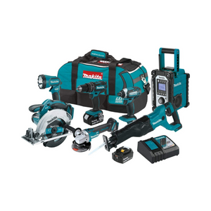 Makita 18V LXT Lithium-Ion Cordless 7-PC. Combo Kit