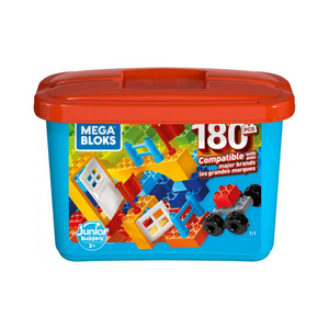 180 Piece Mega Bloks Mini Bulk Large Tub