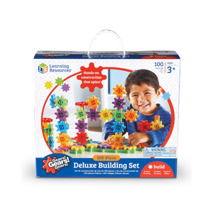100-Piece Learning Resources Gears! Deluxe Building Set