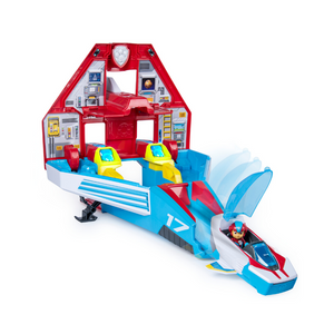 2-in-1 PAW Patrol Transforming Mighty Pups Jet Command Center w/ Lights & Sounds
