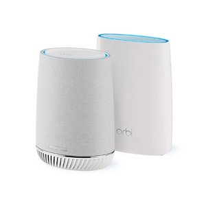 Netgear Orbi Tri-band Whole Home Mesh WiFi System With Built-in Smart Speaker