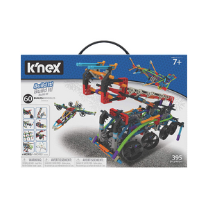 K'NEX Intermediate 60 Model Building Set - 398 parts