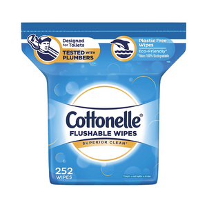 504 Cottonelle FreshCare Flushable Wipes