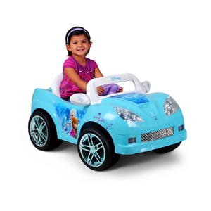 Disney Frozen Convertible Car 6-Volt Battery-Powered Ride-On