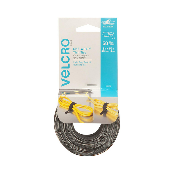 50 Velcro Reusable Cable Ties