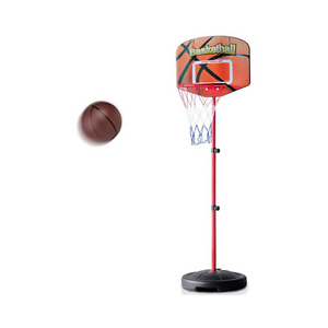 Adjustable Height Kids Basketball Hoop Stand Set