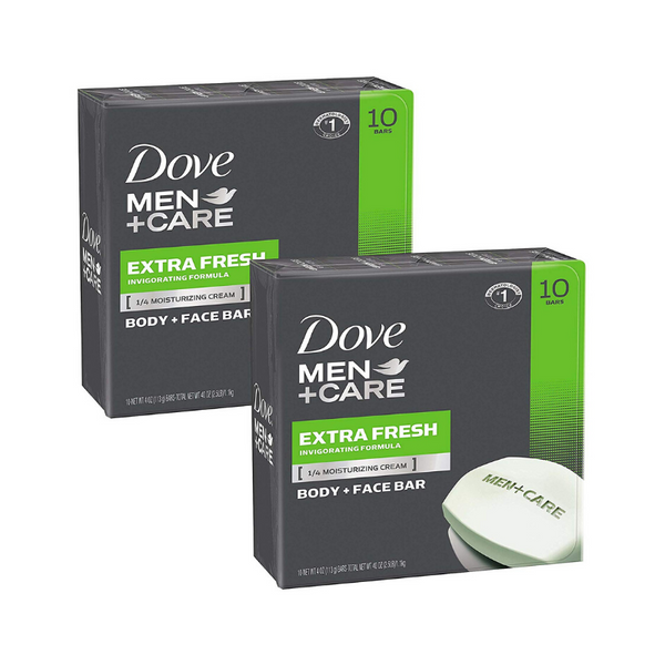 20 Dove Men+Care Body and Face Bars