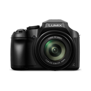 Panasonic Lumix FZ80 4K Digital Camera, 18.1 Megapixel Video Camera