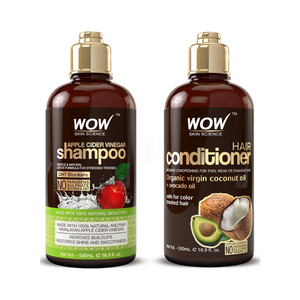 WOW Apple Cider Vinegar Shampoo & Hair Conditioner Set