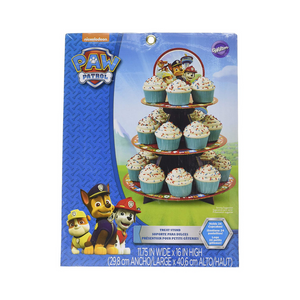 Wilton Paw Patrol 24 Cupcake Treat Stand & Wilton 46-Piece Deluxe Cake Decorating Set