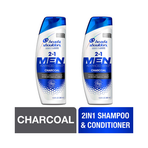 2 Bottles Of 2 in 1 Head and Shoulders Shampoo and Conditioner