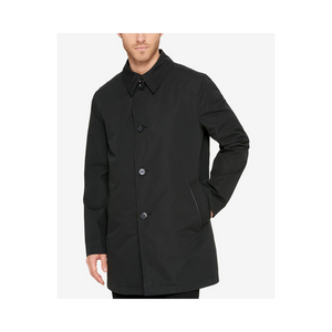 Cole Haan Men's Button-Front Water Resistant Rain Coats (Many Styles)