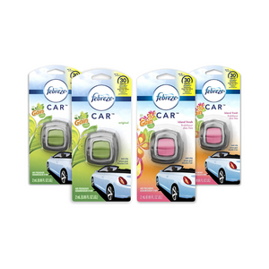 Pack Of 4 Febreze Car Air Fresheners