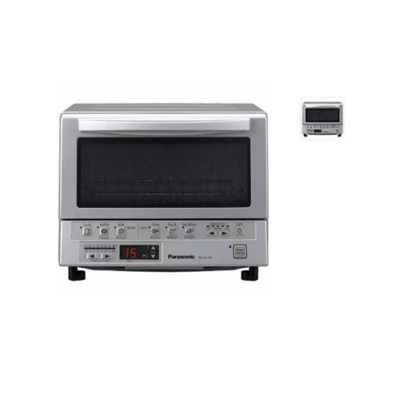 Panasonic Nb G110p Flashxpress Infrared Toaster Oven Silver Pzdeals