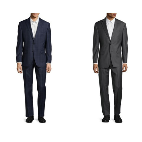 Calvin Klein, Ralph Lauren and Michael Kors wool suits