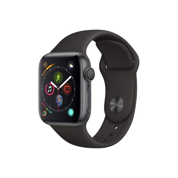 Apple Series 4 GPS Smartwatch (40mm, Space Gray/Black)