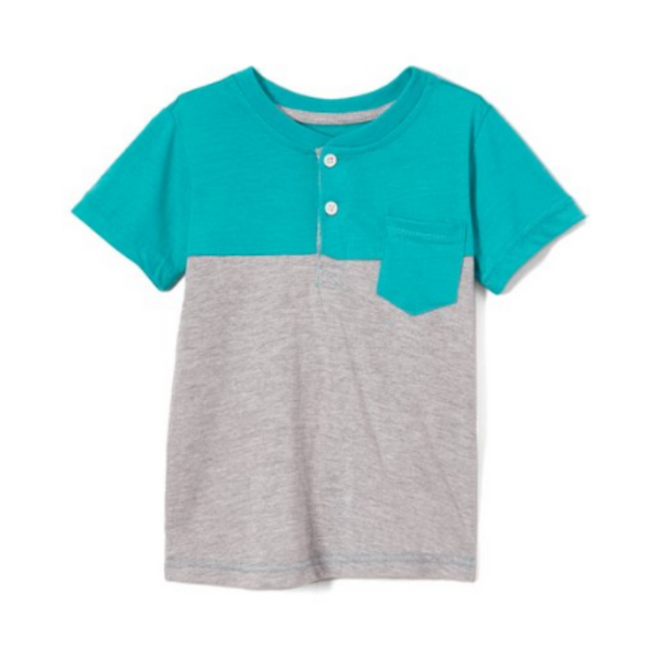 Toddler And Boys Pocket T-Shirt (2 Colors)