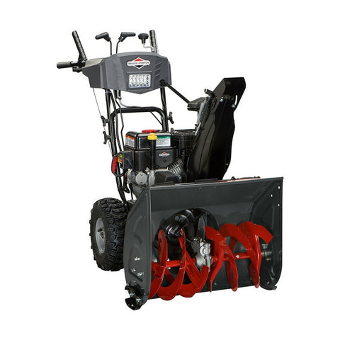 Briggs & Stratton Dual-Stage Snow Thrower with 208cc Engine and Electric Start, 24""