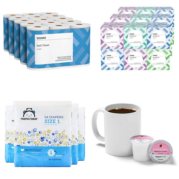 Huge Savings On Toilet Paper, Wipes, Trash Bags, Diapers, K-Cups & More