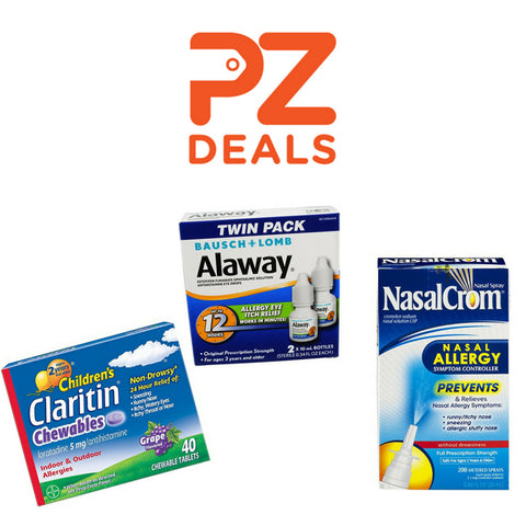 Up to 40% Off Allergy Medications