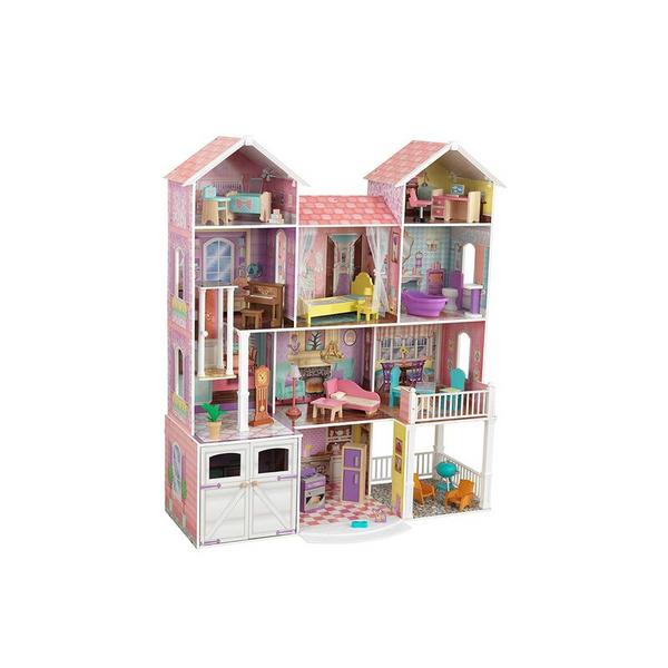 KidKraft Country Estate Wooden Dollhouse With 31 Accessories