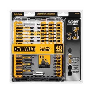 Dewalt 40-Piece Impact Ready FlexTorq Screwdriver Bit Set