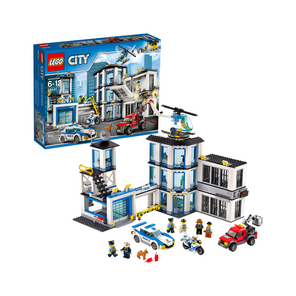 LEGO City Police Station Building Set (894 Pieces)
