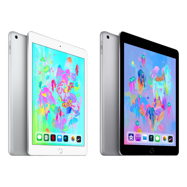 Apple iPad (6th Gen) 128GB Wi-Fi (3 Colors)