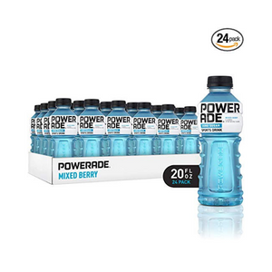 24 Bottles Of Powerade (5 Flavors)