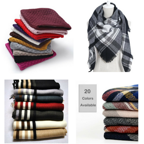 Sponsored: FREE men's and women's scarves