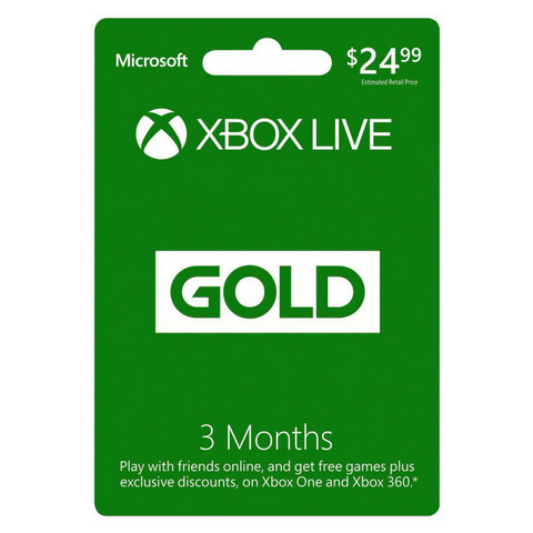 6 months of Xbox Live (digital code)