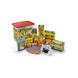 Crayola Colossal Creativity Tub, 90 Pieces