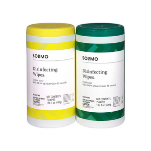 150 Solimo Disinfecting Wipes
