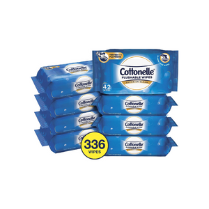 336 Cottonelle FreshCare Flushable Wipe