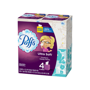 4 Boxes Of Puffs And 8 Kleenex Tissues On Sale