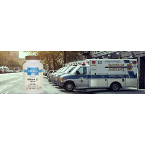 All Hatzalah Members Get A Free Bottle Of Vitamin D From Freeda Health