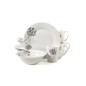 12-Piece Gibson Home Dinnerware Sets (3 Styles)