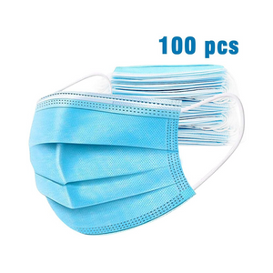 100 - 3-Ply Face Masks