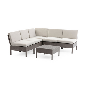 6 Piece Outdoor Patio Conversation Set