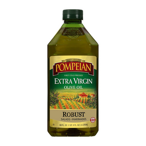 Pompeian Robust Extra Virgin Olive Oil 68oz Bottle