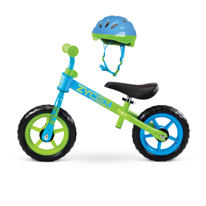 Balance Bike With Helmet Combo